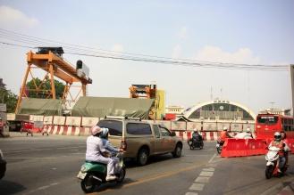 Bangkok CS is net zo'n grote bouwput als Rotterdam CS
