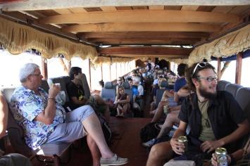 Dag 1 op de slowboat: prima plekken!