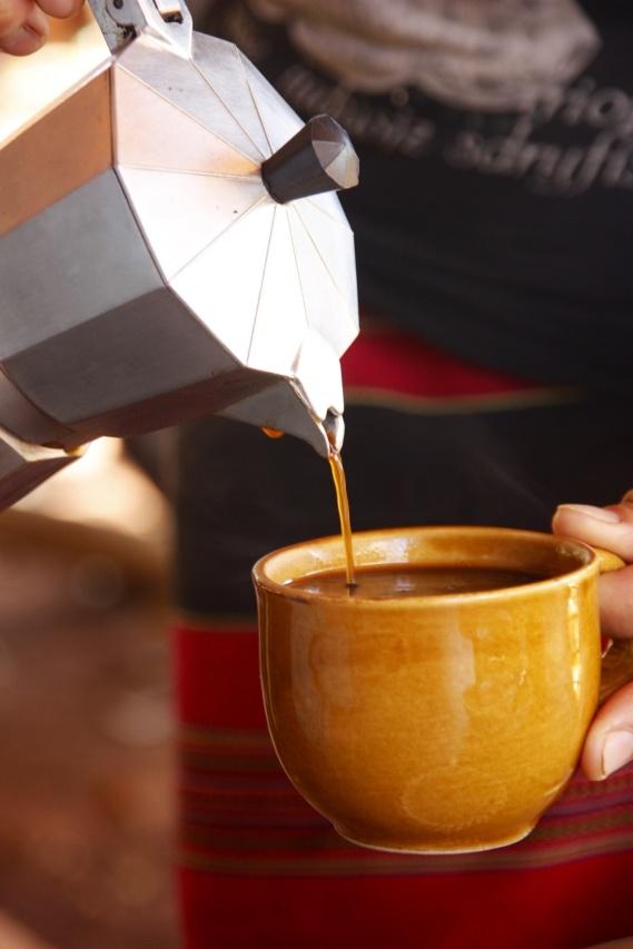 Vers gebrande koffie!