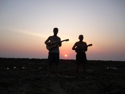 Ron en Davy, een goed muzikantenduo (met alvast een albumcover)