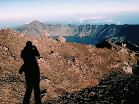 Kratermeer van de Rinjani.