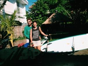 Surf's up in Kuta op Lombok