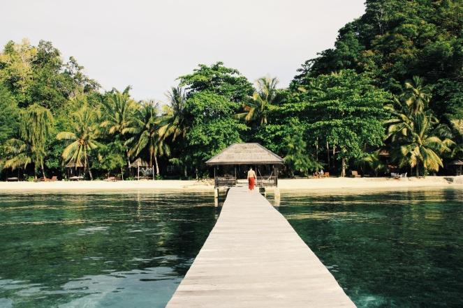 Eerste eilandje in Sulawesi genaamd: Paradise