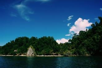 Aankomst bij Paradise Island