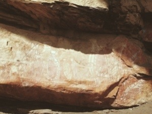 Aboriginal rockpaintings in Kakadu NP