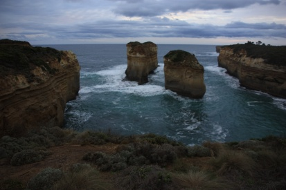 Along the Great Ocean Road