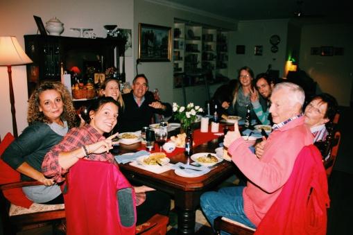 Diner met de Rundell-Gordon Family in Deniliquin