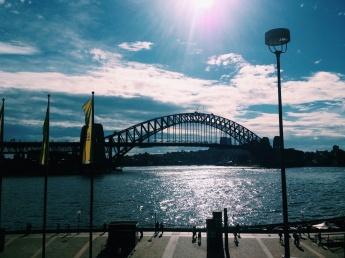 Harbour Bridge in Sydney