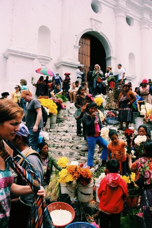 Zondagsmarkt in Chichi