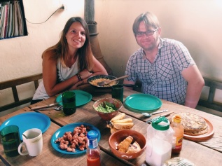 Selfmade ontbijt in San Christóbal