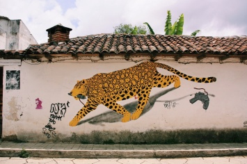 Mural in San Christóbal