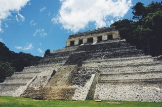 Mayaruins van Palenque
