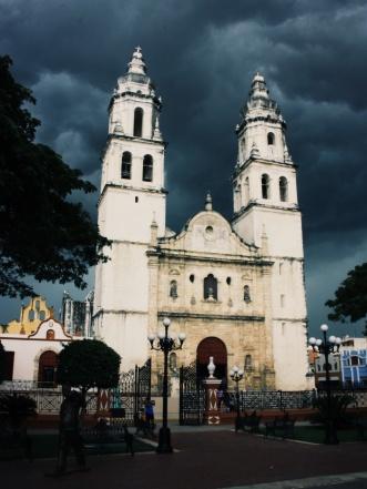 Storm op komst in Campeche