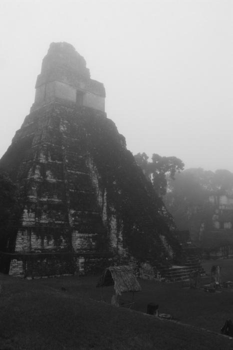 Central square Tikal