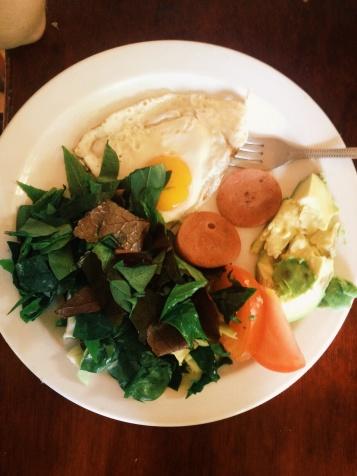 Waar het eten fantastisch was, omdat het gezond was..