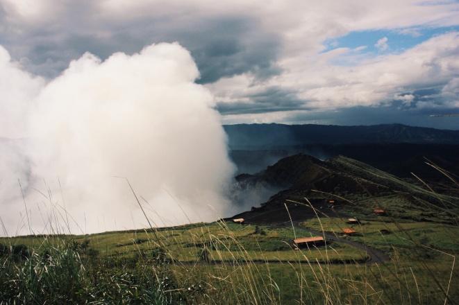 De spanjaarden noemden de vulkaan van Masaya 'The mouth of hell'
